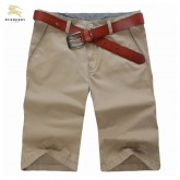Burberry Pantalon Homme Uni Beige Short Boutique Marseille