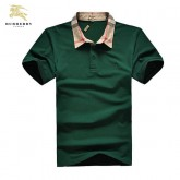 Burberry Uni Manches Courte T Shirt Homme Vert Polo Cara Delevingne