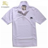 Burberry Lille Uni T Shirt Homme Polo Manches Courte Blanc Boutique Paris