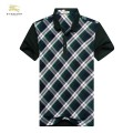 Burberry Lille Vert Manches Courte Polo T Shirt Homme Online Store