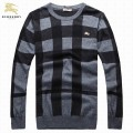 Burberry Noir Manches Longue Pullover Pull Homme Manteau