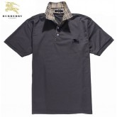 Burberry Polo Gris Uni Manches Courte T Shirt Homme Robe Fille