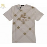 Burberry T Shirt Homme Manches Courte Col Rond Multicolor Paris Boutique