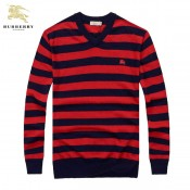 Burberry Pull Homme Pullover Col V Manches Longue Magasin Marseille