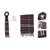 Burberry Rayures Pourpre Echarpe Robe Fille