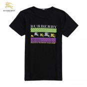 Burberry T Shirt Homme Col Rond Manches Courte Foulard Soie