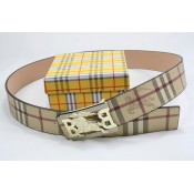 Burberry Ceinture Chic Beige Ceinture reversible Magasin France