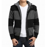 Burberry Manches Longue Pull Homme Zippe Cardigans Capuche Occasion
