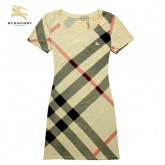 Burberry En Col Rond T Shirt Femme Manches Courte Trench Soldes