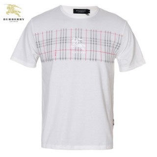 Burberry London Manches Courte T Shirt Homme Col Rond Factory Shop