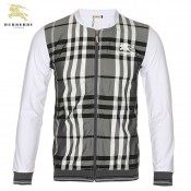 Burberry London Manches Longues Veste Homme Col Rond Zippe Sweat Paris Boutique