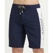 Burberry Pantalon Homme Short Blanc Rayures Casual Magasin Lyon