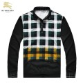 Burberry Manches Longue Pullover Pull Homme Polo Noir Outlet Paris