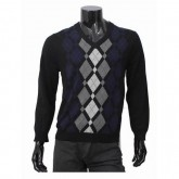 Burberry Pull Homme Bleu Pullover Manches Longue Neiman Marcus