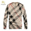 Burberry Pull Homme Col Rond Beige Pullover Cravate