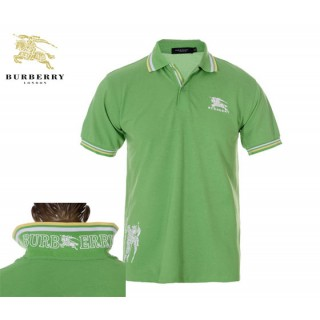 Burberry Lunettes 2017 Polo Manches Courte T Shirt Homme Vert Fragrance