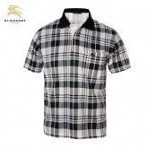 Burberry Lunettes Polo T Shirt Homme Blanc Manches Courte Vente Privee