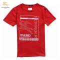 Burberry Lunettes Manches Courte Rouge Col Rond T Shirt Homme Prix Foulard