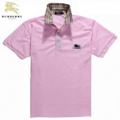 Burberry Lunettes Uni Manches Courte Rose Polo T Shirt Homme Foulard