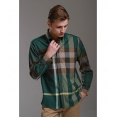 Burberry Chemise Homme Manches Longue Multicolor Madeleine