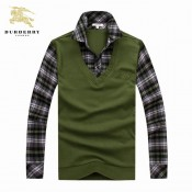 Burberry Pull Homme Pullover Manches Longue Porte Monnaie