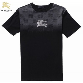 Burberry Manches Courte T Shirt Homme Col Rond Outlet Online