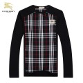 Burberry T Shirt Homme Col Rond Noir Manches Longue Trench Prix
