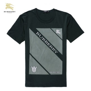 Burberry Impression Graphique T Shirt Homme Col Rond Manches Courte Ballerines