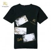 Burberry T Shirt Homme Col Rond Blanc Manches Courte Online Shop