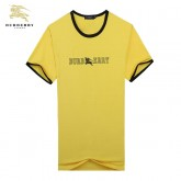 Burberry T Shirt Homme Manches Courte Col Rond Logo Outlet