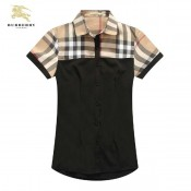 Burberry Manches Courte Chemise Femme Occasion