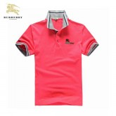 Burberry Manches Courte Polo T Shirt Homme Rouge Trench Prix