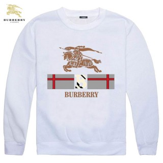 Burberry Manches Longues Col Rond Veste Homme Blanc Sweat Magasin Lyon