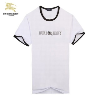Burberry T Shirt Homme Uni Blanc Col Rond Manches Courte Online