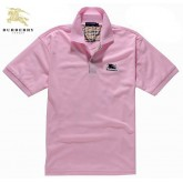 Burberry Uni Manches Courte Rose T Shirt Homme Polo Boutique Paris