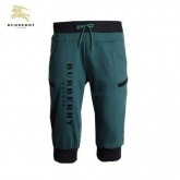 Burberry Vert Sportif Pantacourt Pantalon Homme Official Website