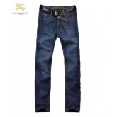 Burberry Bleu Jeans Homme Jean droit Magasin France