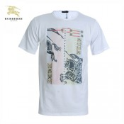 Burberry 2017 Serigraphie Col Rond T Shirt Homme Manches Courte Online Store