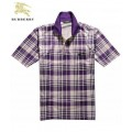 Burberry Polo T Shirt Homme Manches Courte Pourpre Factory Shop