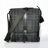Burberry Sac Homme Noir Sacs à Bandoulière Smoked Check Official Website