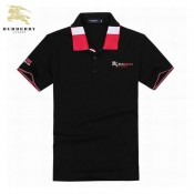 Burberry Polo T Shirt Homme Manches Courte Noir Outlet Store