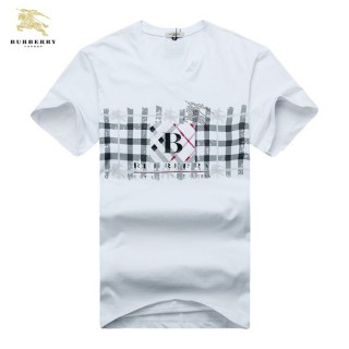 Burberry T Shirt Homme Manches Courte Col V Multicolor Official Website