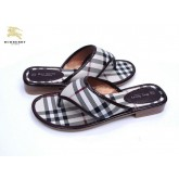 Burberry Chaussure Femme Blanc Mules Outlet
