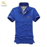 Burberry Bleu Manches Courte Polo T Shirt Homme Montpellier