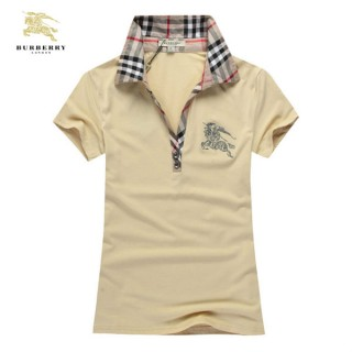 Burberry Polo Manches Courte T Shirt Femme Factory Outlet