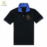 Burberry Noir Manches Courte T Shirt Homme Polo Collection