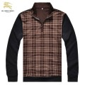 Burberry Pullover Marron Manches Longue Pull Homme Online Shop