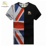 Burberry Manches Courte T Shirt Homme Col Rond Vente Privee