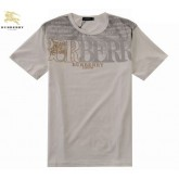 Burberry Manches Courte T Shirt Homme Col Rond Paris Madeleine
