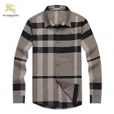 Burberry Manches Longue Chemise Homme Occasion